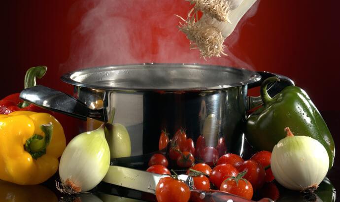 Ångkoka, blanchera, raw food-temperera, torka eller långkoka för bättre näring