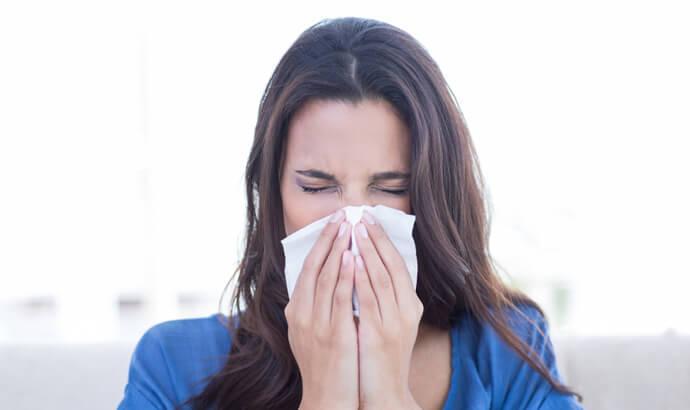 Motverka pollen med björksav